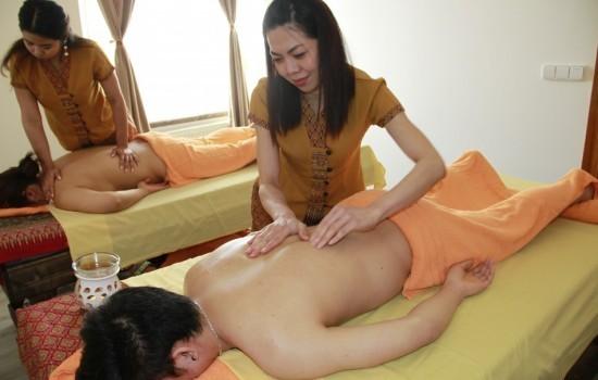 Párová olejová masáž